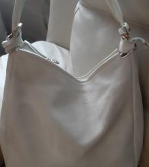 MONA bela torba kožna