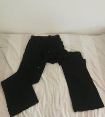 Crne tanje pantalone Pro Piu Grande