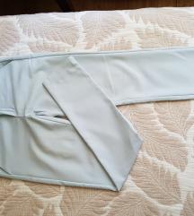 Svetlo plave elegantne pantalone XS/S