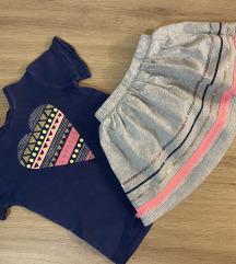 Carter's majica i suknja
