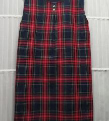 Cottonland karirana haljina, kao nova