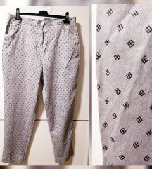 RezzDa. Stretchhose silver pantalone SA ETIKETOM