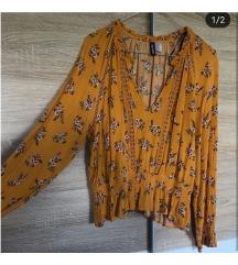H&M oker košuljica/bluzica
