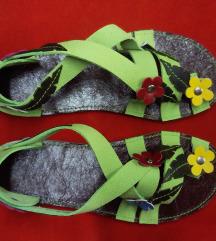 Fantasy kožne sandale - novo