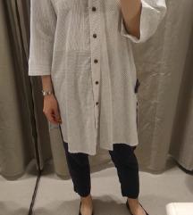 ZARA oversized lanena košulja
