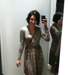 H&M animal print haljina
