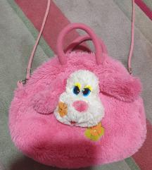 MEKANA krznena torbica za devojcice