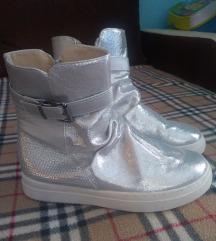 Silver cizme