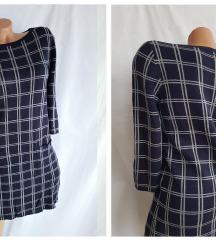 S.Oliver ♥ punija teget karo haljina sa džepovima