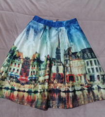 Suknja sa printom *sniženo 700* M/S