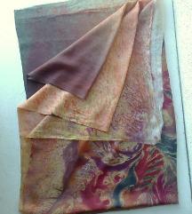 materijal za ešarpe marame svila 270x93 cm