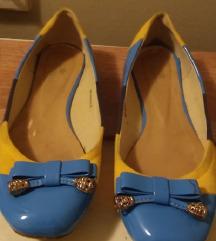 Baletanke,zuto plave,velicina 40 ili 26 cm