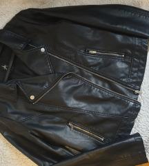 Atmosphere crna kozna jaknica