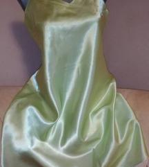 GIDNI FEROTI skoro nova satenska haljina m vel.