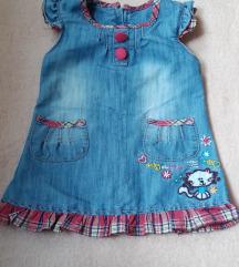 Teksas haljinica za bebe