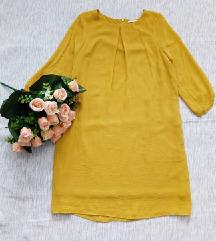 H&M zuta haljina