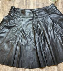 Kikiriki kožna suknja