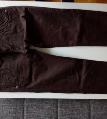Stradivarius braon tanje pantalone