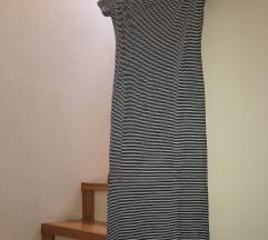 Uska pamučna Bershka haljina