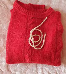 Ručno rađen vuneni džemper