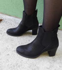Lavarzione Artigiana crne vrhunske čizme