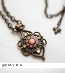 MYKA  Butterfly Necklace