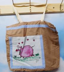 Handmade Prase torba