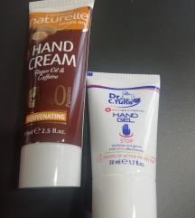 Krema za ruke i antibakterijski gel