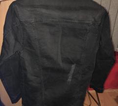 Crna teksas jakna