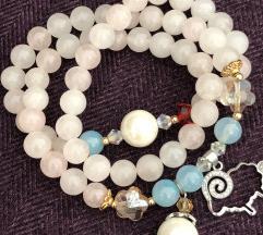 Narukvica -ogrlica od oludragog kamena