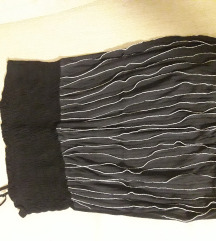 Majica na bretele crna na karnere