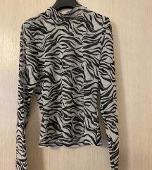 PROVIDNA ZEBRASTA H&M majica