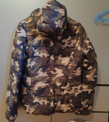 Maskirna jakna sa 2 lica
