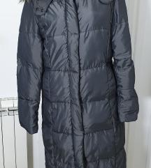 H&M siva dugacka zimska jakna,vel.XL