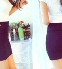H&M teget pamuk suknja