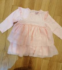 Haljina za bebu 4 do 6 meseci NOVO