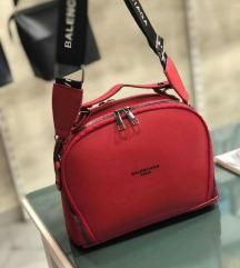 Nova BALENCIAGA crvena torba