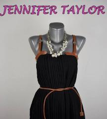 Crna Jennifer Taylor majica sa kaisem 36/38