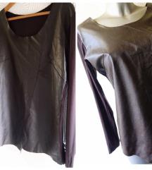 Nova Zara bluza sa koznim detaljima M/L
