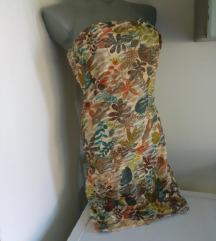 Iscepkana sarena top haljina S