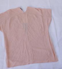 Zara nude bluza M kao nova!!!!