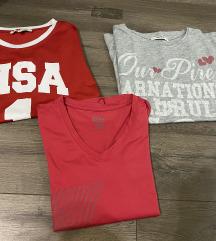 3 majice za 800