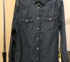 H&M muška teksas košulja