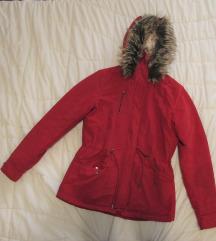 581. Only zimska jakna sa kapuljačom, crvena