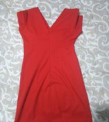 Crvena haljina kratka