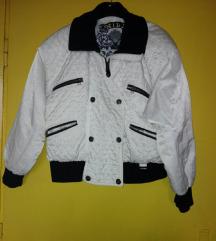 Belo-crna jakna xl