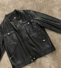 Retro urban kožna jakna
