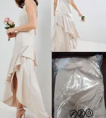 ASOS DESIGN satenska haljina