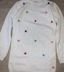 Kassker beli džemper