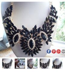 Nova masivna kristalna ogrlica